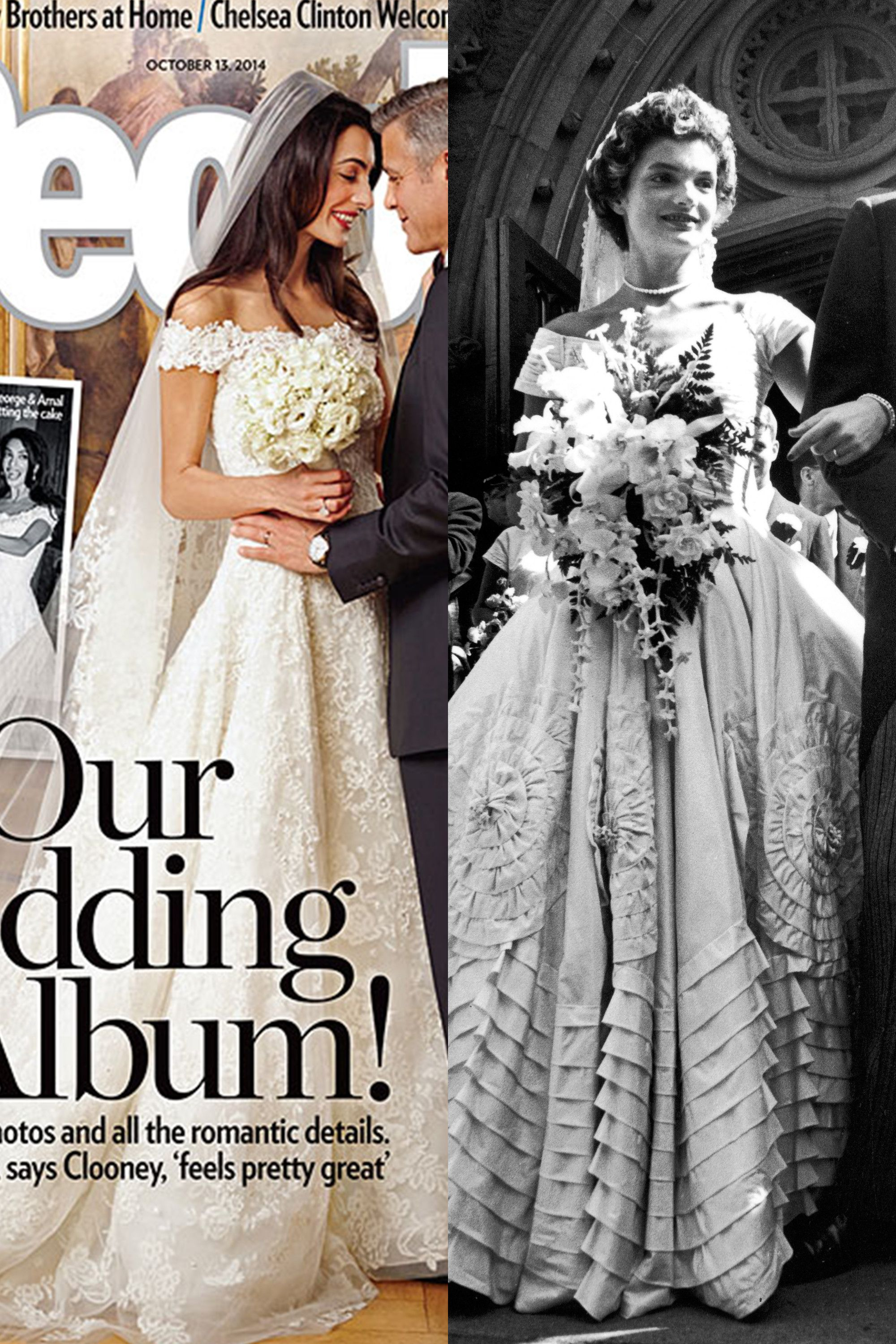 14 Photos That Prove Amal Clooney Is Jackie Kennedy Incarnate Jackie Kennedy Style Jackie Kennedy Style Outfits Wedding Gowns Vintage