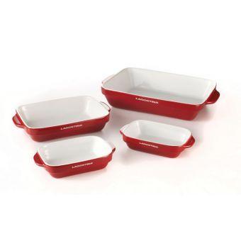 Lagostina Ceramic Bakeware Set 4 Pc Ceramic Bakeware Ceramic