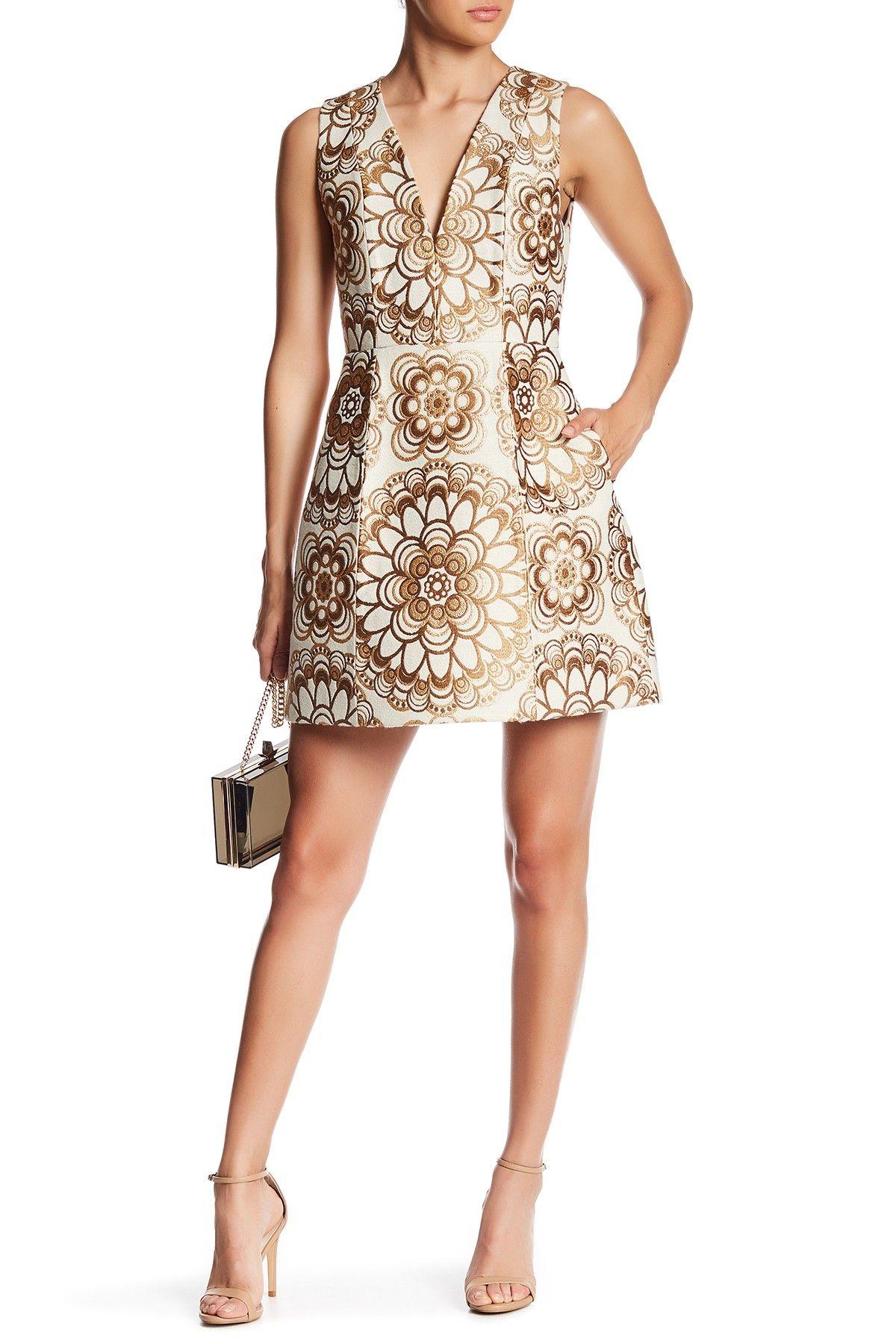 a82852ed65 Patty Deep V-Neck Dress