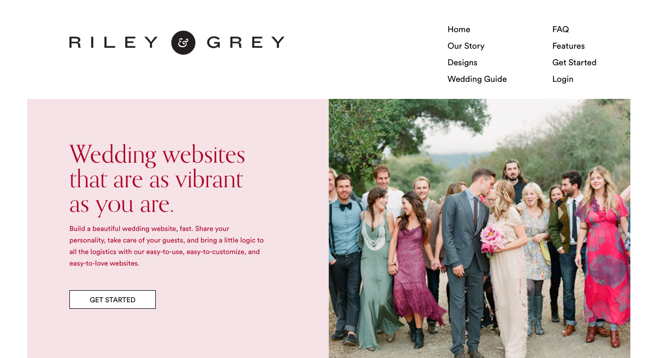 Top Five Wedding Website Builders The knot wedding