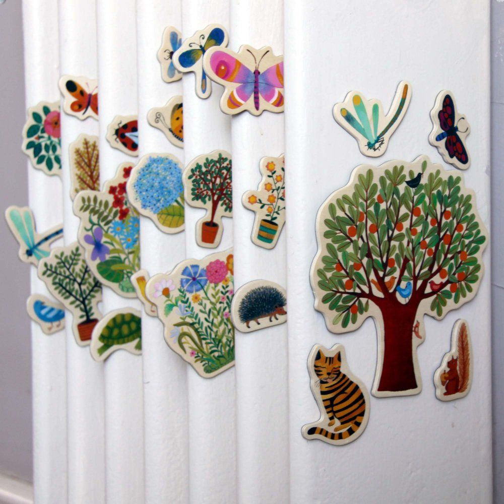 djeco poetic garden magnets cocone pinterest gardens djeco poetic garden magnets