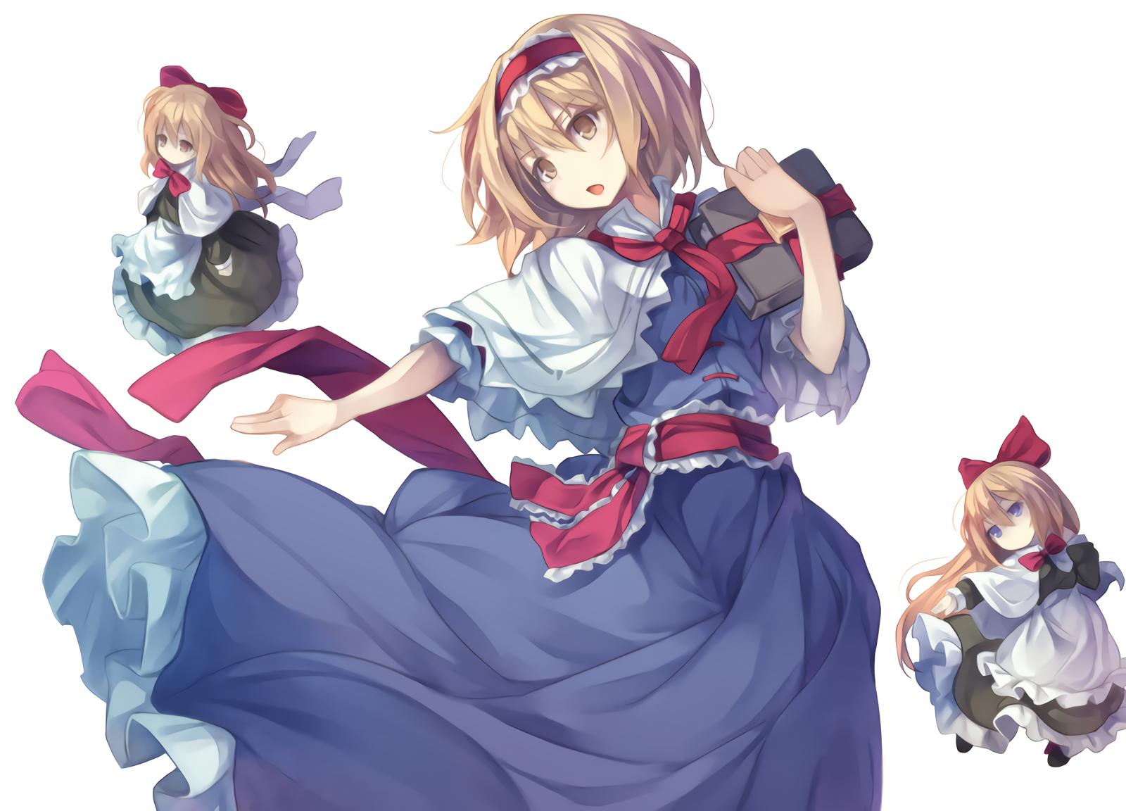 東方 touhou かわいいアニメの女の子 東方アリス イラスト