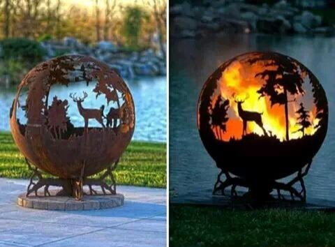 Amazing fire place