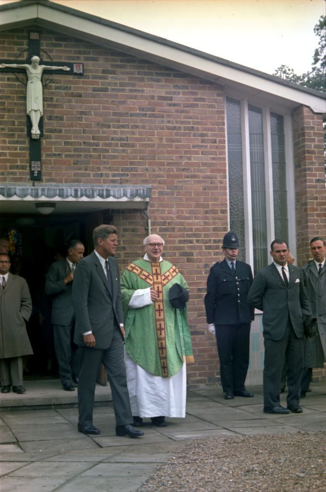 Image result for john kennedy church rosary