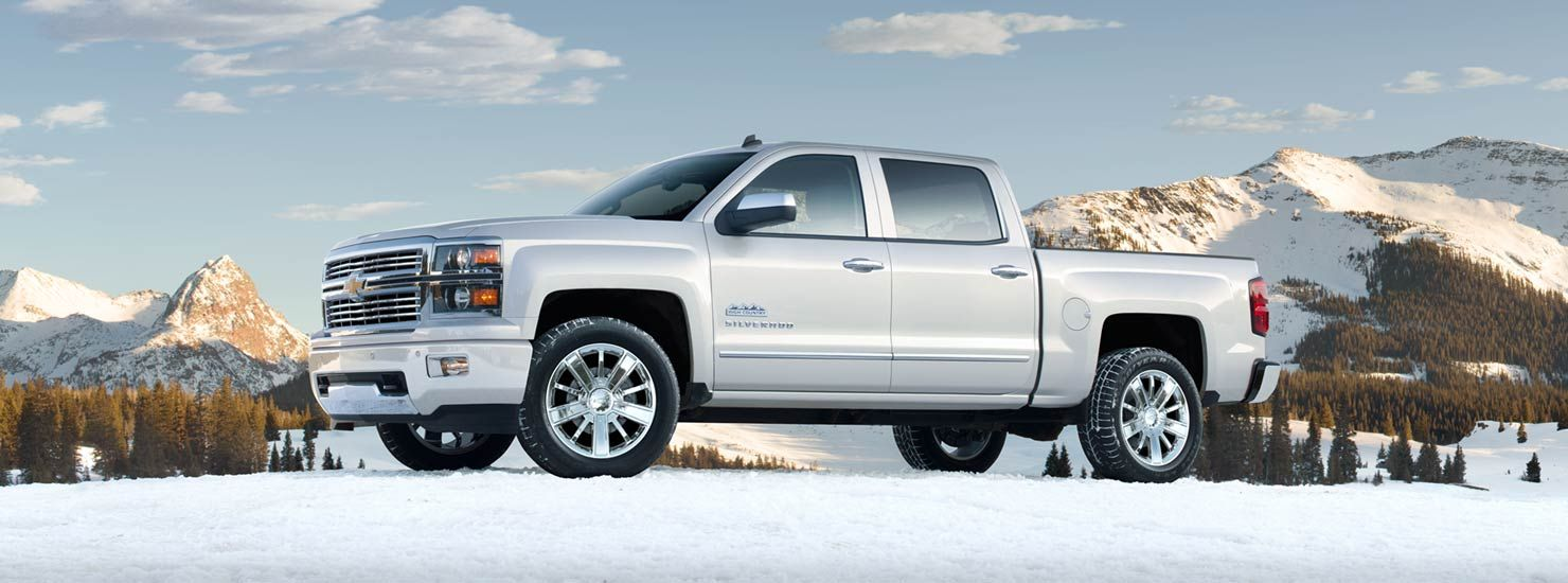 2014 Chevrolet Silverado High Country Fuel efficient