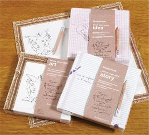 Sketchbook Napkins: Make Your Own Art - bought these for a friend.