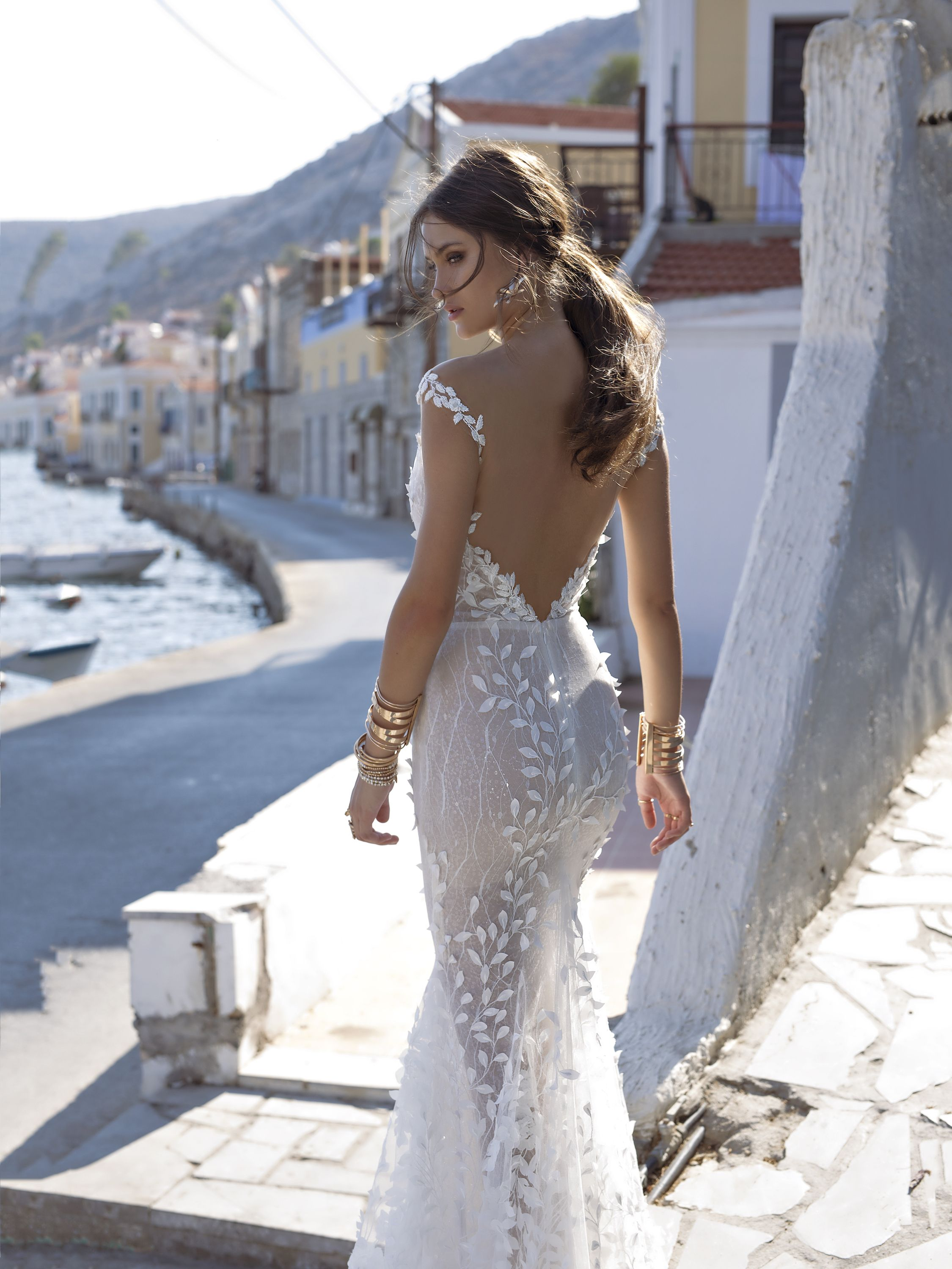 e0b30506245 Delta is a timeless design intended to create an effortless touch to the Lian  Rokman brides  perfect day. This double lace gown is grounded in peach  lining ...