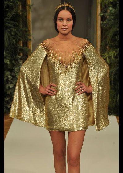 Yulia Yanina runway Haute Couture 2012