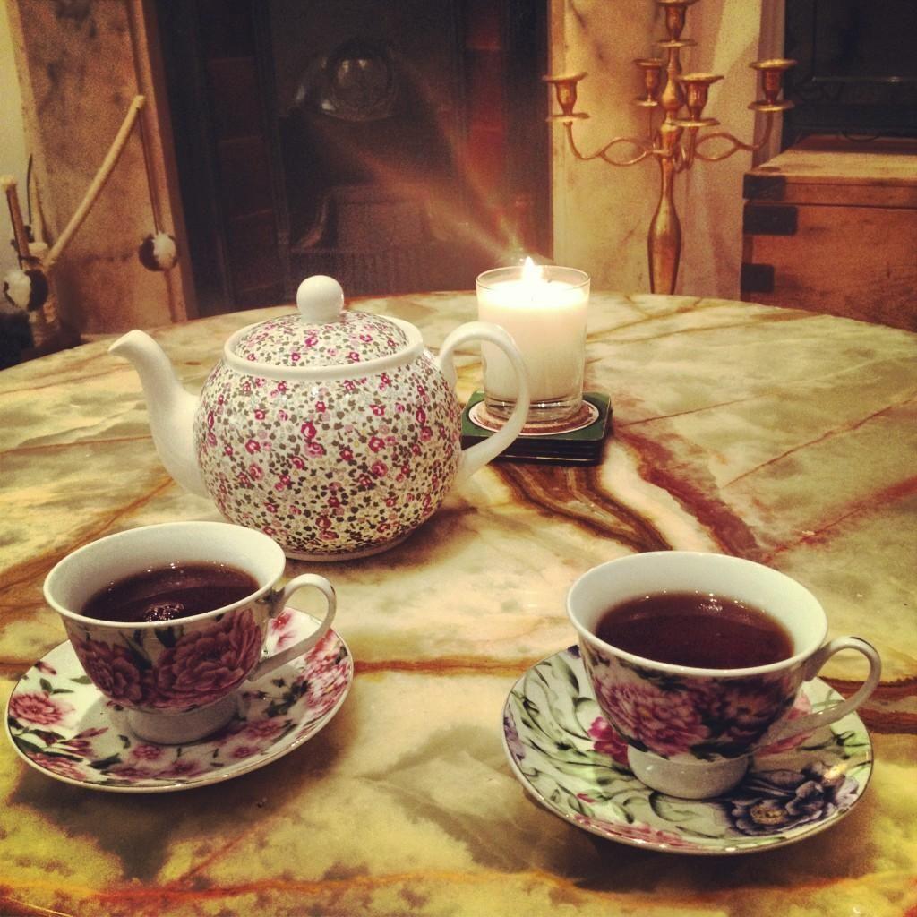 Tea chez GC