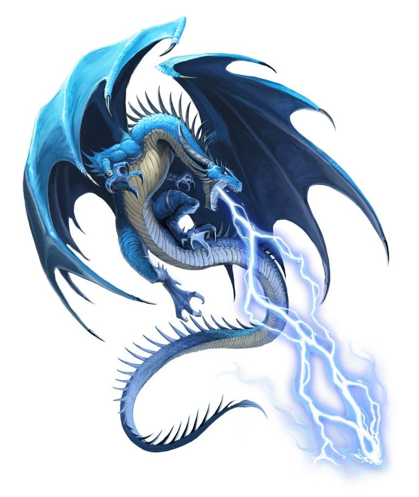 Blue Dragon Kazavon - Pathfinder PFRPG DND D&D d20 fantasy ...