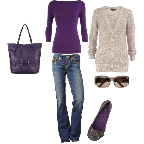 every girl needs a little purple!