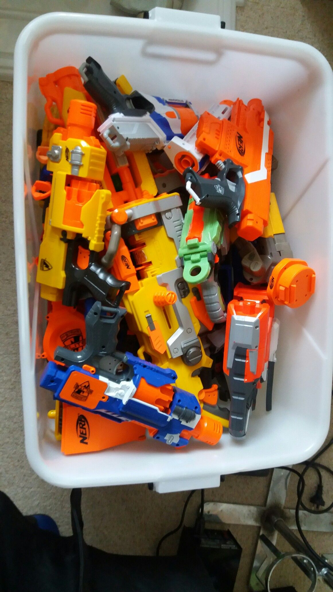 The mother load of nerf guns