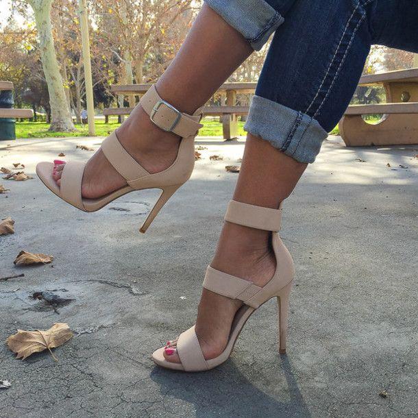 shoes heels high heels cute heels cute pumps nude pumps nude heels ...