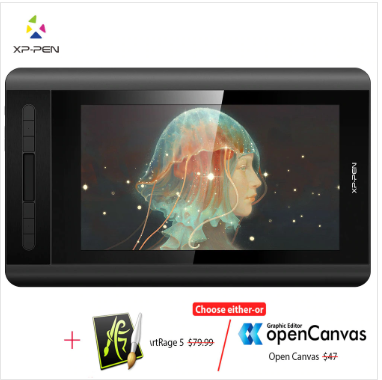 XPPen Artist 12 Graphic Tablet Drawing tablet, Digital