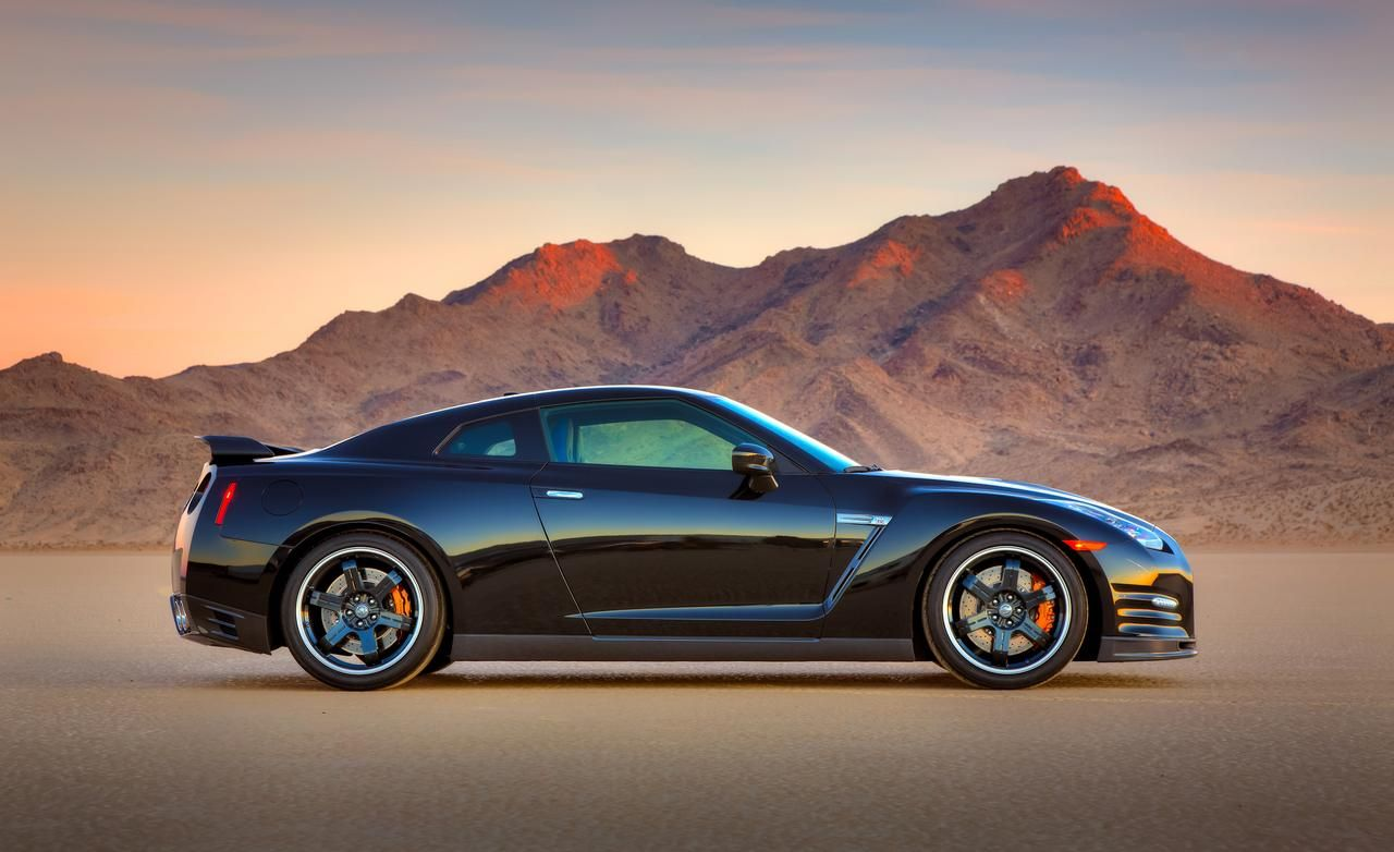 Nissan nissan gtr 2014 : 2014 Nissan GT-R Track Edition Side View Wallpaper | Cars Likes ...