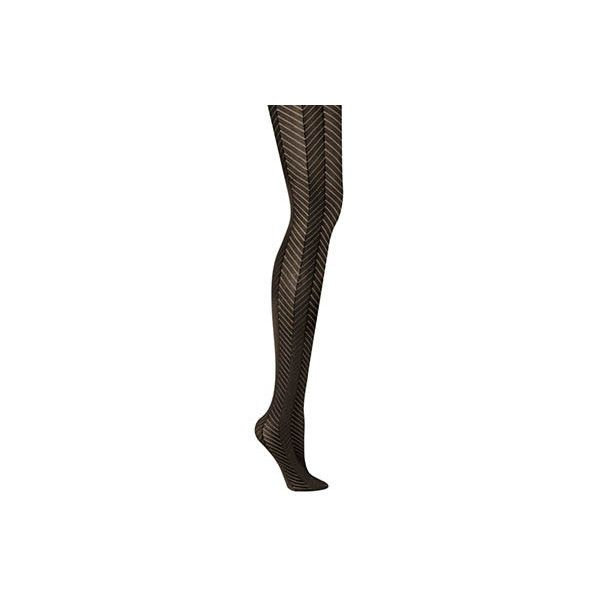 Hanes 0B839 Chevron Control Top Tight (€7,03) ❤ liked on Polyvore featuring intimates, hosiery, tights, opaque patterned tights, hanes hosiery, patterned pantyhose, sheer stockings and opaque tights