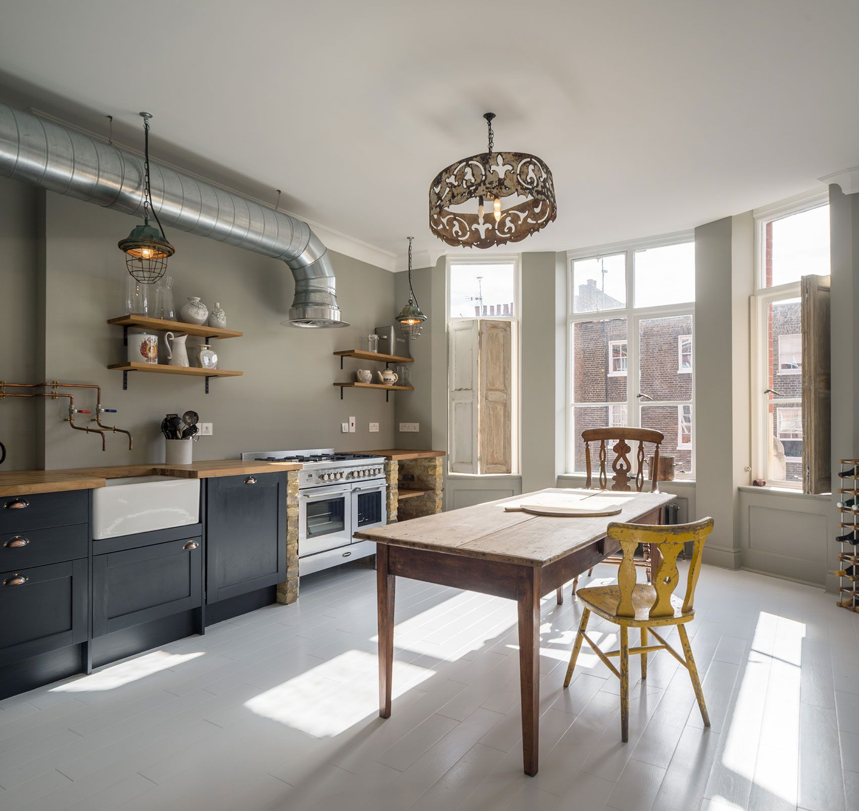 Fitted Kitchen Interior Designs Ideas Kitchen Cabinet: Traditional British Cabinets, Industrial Non Fitted