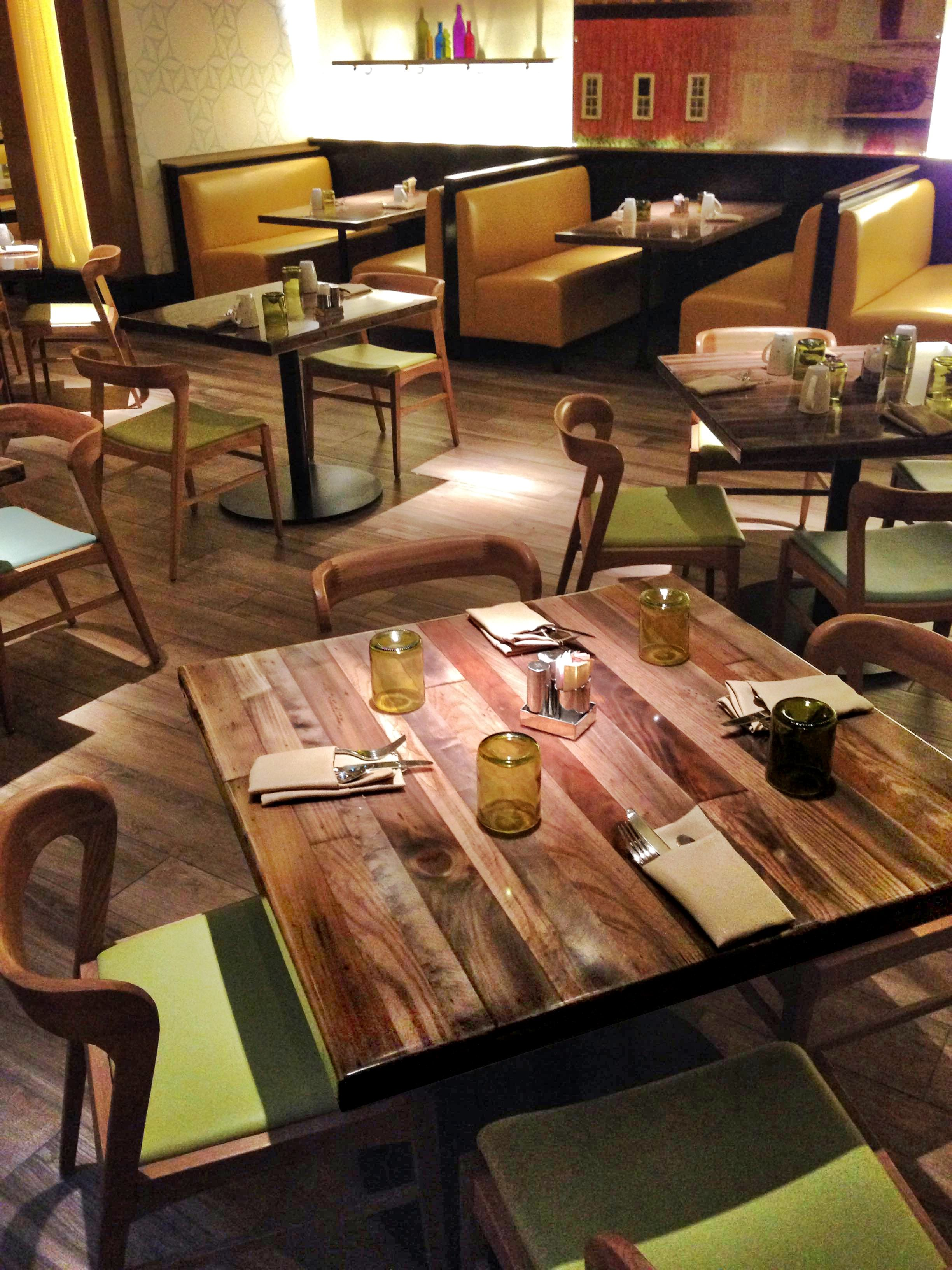 Pinitforlater Tabletopics Restaurant Hospitality Tables Tabletops Marketingstrategy Custom Design Acralytex Resin Letstalktables Table
