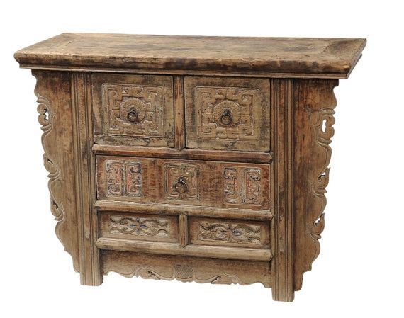 Antique Carved Chest Of Drawers By Terra Nova Furniture Los Angeles