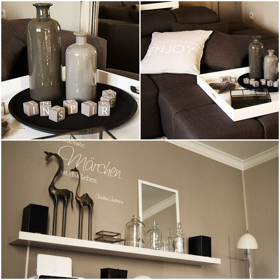 deko für wohnzimmer regal | wohnzimmer ideen | dekoration