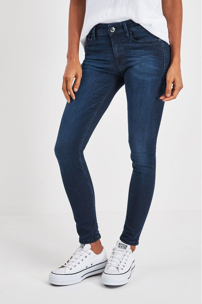 REPLAY Luz High Waist Jeans Donna