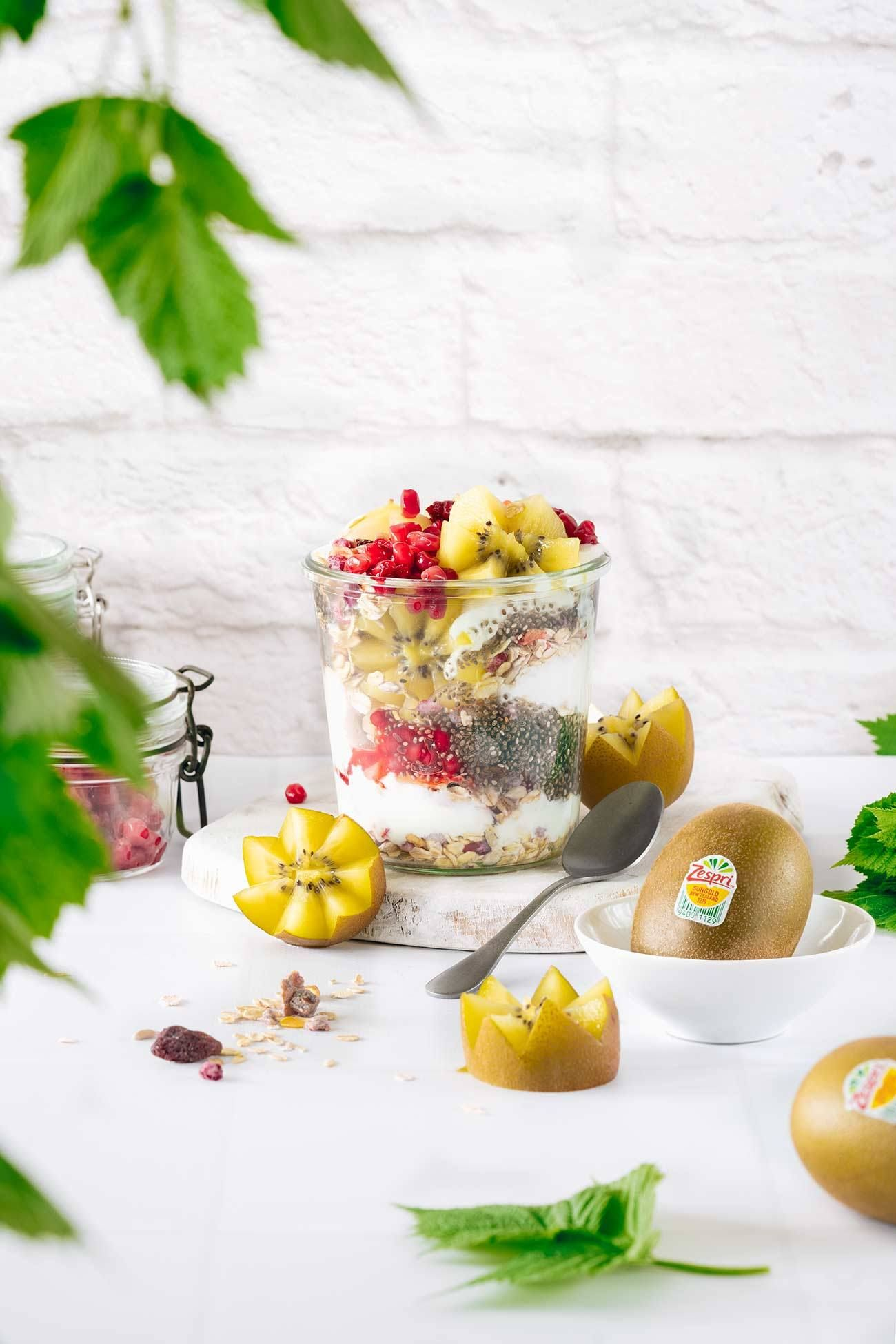 Mein Kiwi Frühstück  – Fruits // Obst