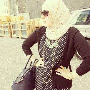 Nadia @my_pinkelephant #kuwaitifashion