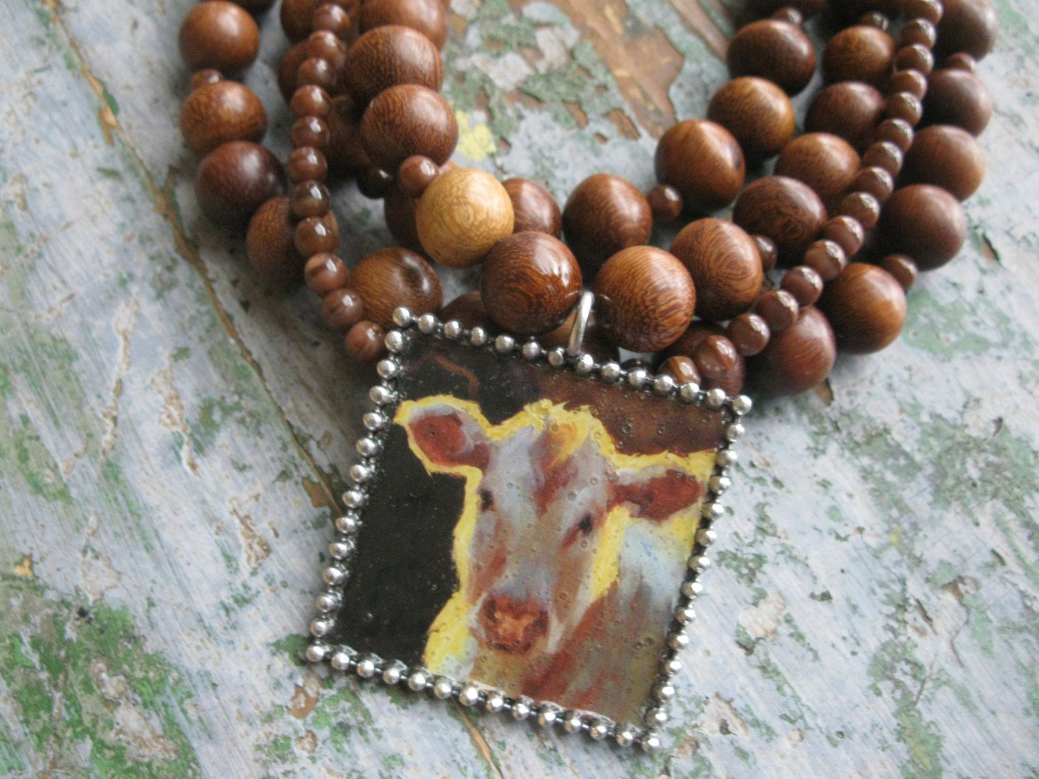 Cattle Collection Pendant Necklace by TheCowboysCloset on Etsy https://www.etsy.com/listing/160732604/cattle-collection-pendant-necklace