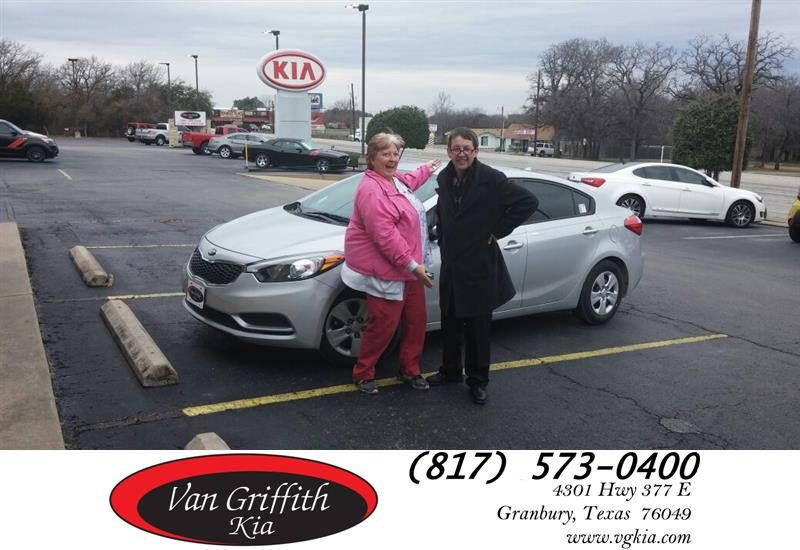 Happy Anniversary to Laurae on your Kia Forte from Jay