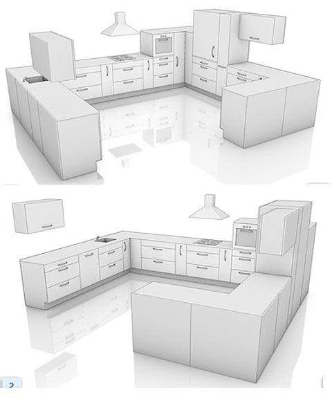 Kitchen Layouts Kitchen Layout G Shaped Kitchen Kitchen Plans