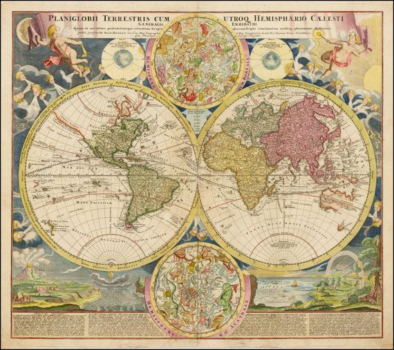 Ancient maps, Map of the world, Old maps, World globe, Ancient map ...