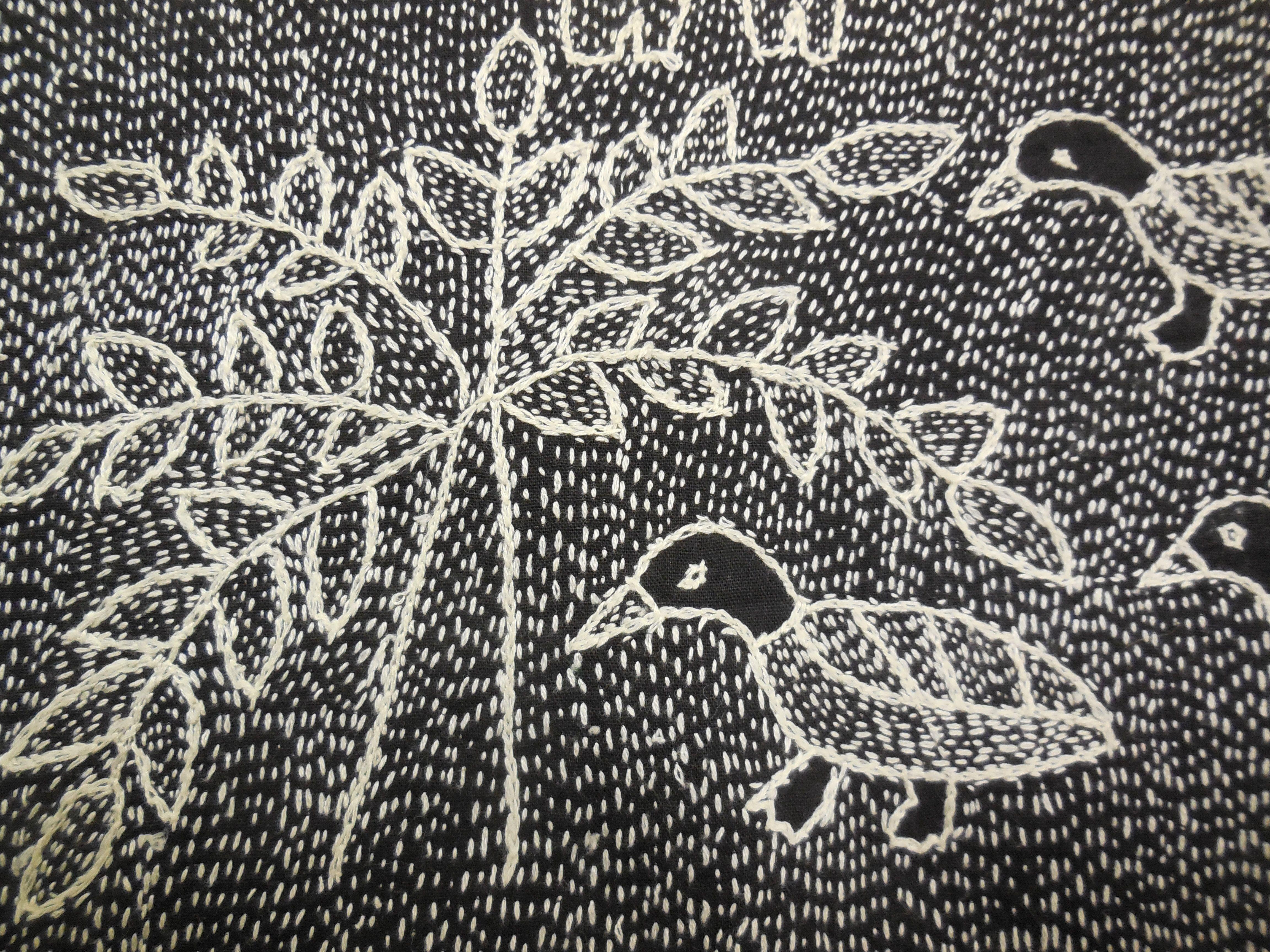 Kantha stitching …   Fashion illustration   Pinterest   Stickmuster