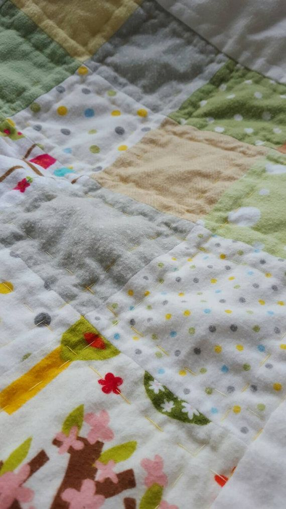 Check out this item in my Etsy shop https://www.etsy.com/uk/listing/287597187/brushed-cotton-baby-quilt-green-and