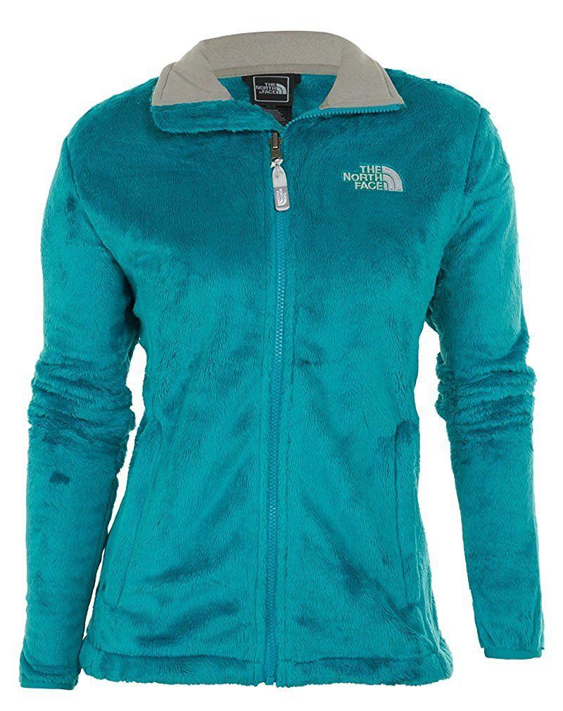 Amazon Com The North Face Womens Osito Jacket Borealis Faith Blue Medium Clothing Faith Medium North Face Women Jackets Jackets For Women [ 1010 x 800 Pixel ]