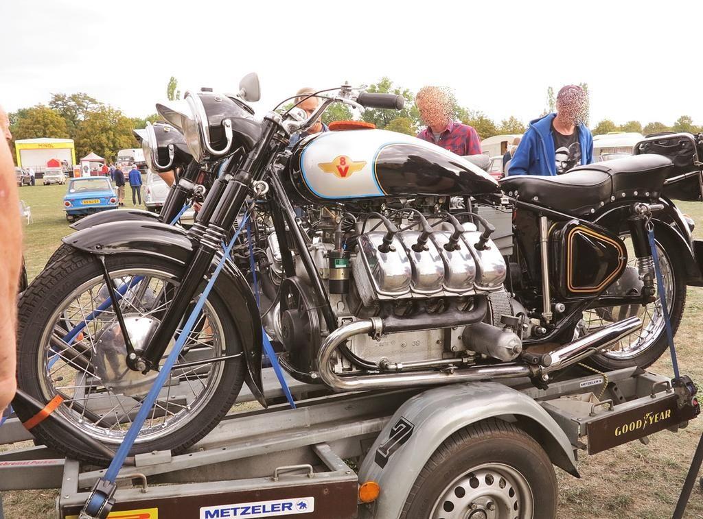 Motorrad Bild Von Erster Auf Getunte Motorrader Oldtimer