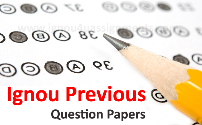 Ignou BSC Life Science Question Papers (LSE)   Question paper ...
