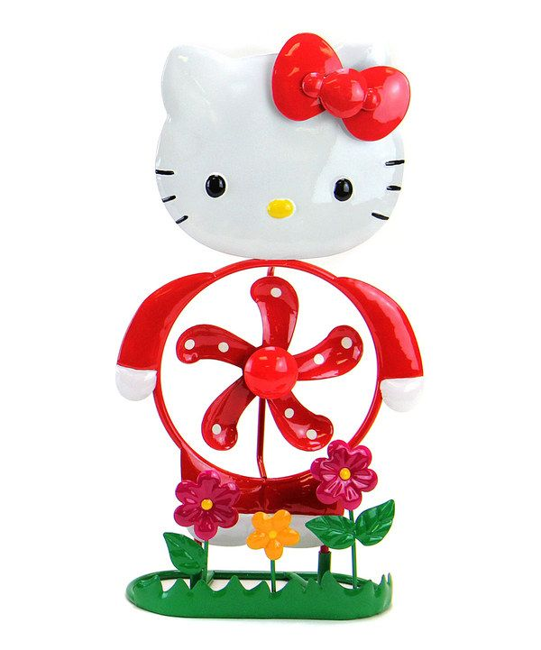 Take a look at this Exhart Red Hello Kitty Spinner Statue on zulily today!