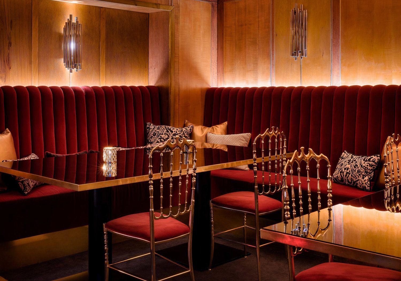 mid century modern restaurant in oslo rocks the best lighting designs wwwdelightfull - Midcentury Restaurant Interior