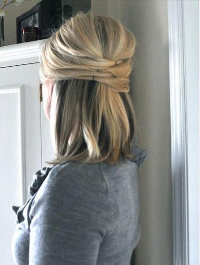 Peinados ideales para cabello corto.