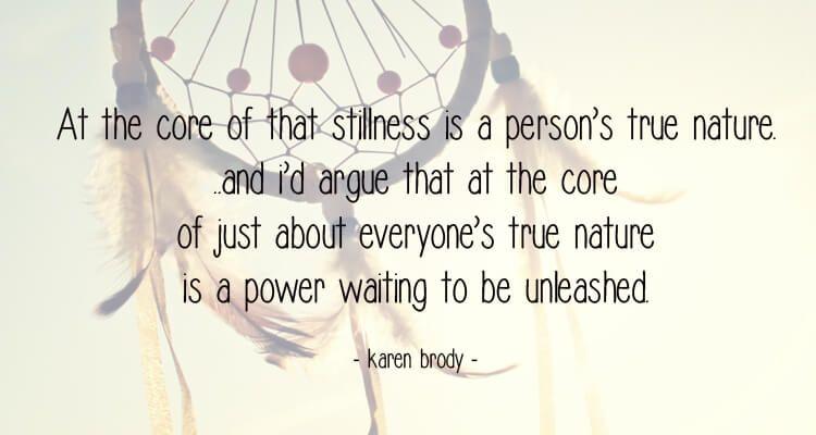Yoga Nidra Quote True Nature