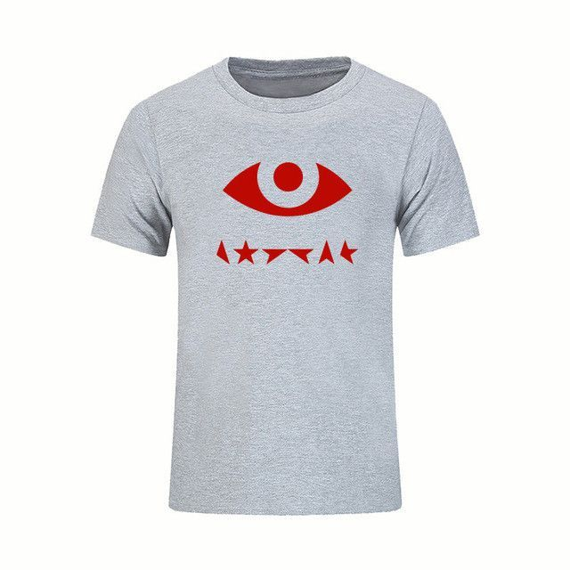T Shirts Character Design Men Rock Bowie David Ziggy Stardt Printed T-shirt Good