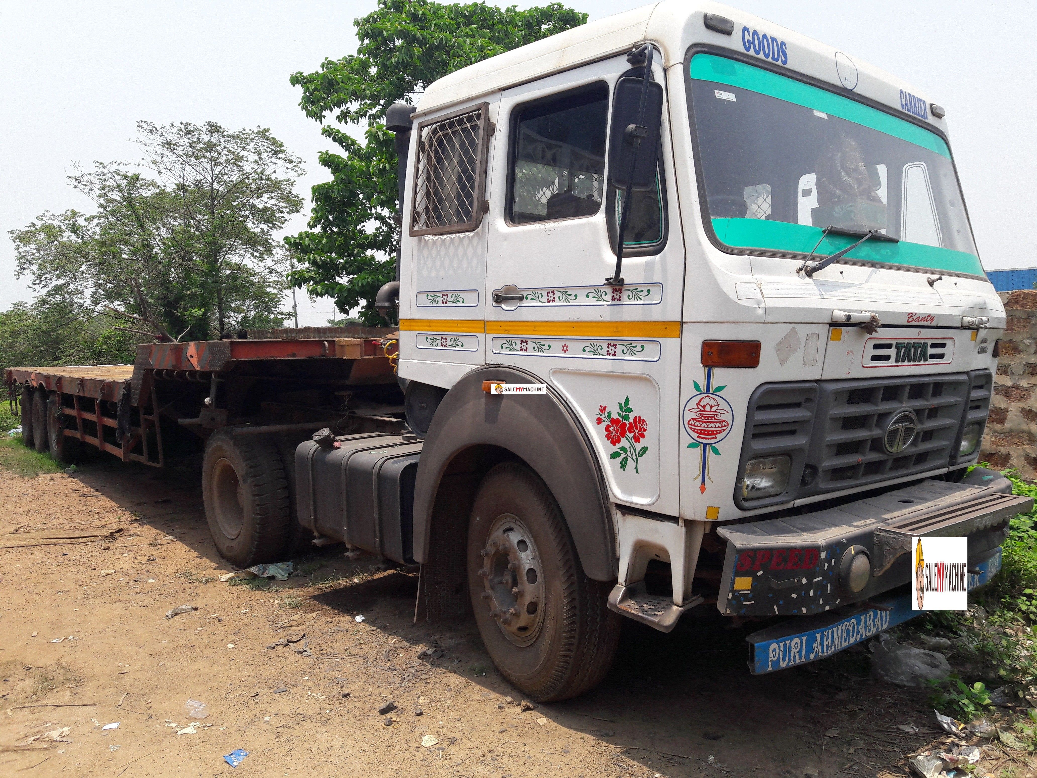 USED TATA LPS 4018 TRAILER FOR SALE IN ODISHA AT salemymachine.com