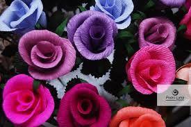 como fazer flores de papel - Pesquisa Google