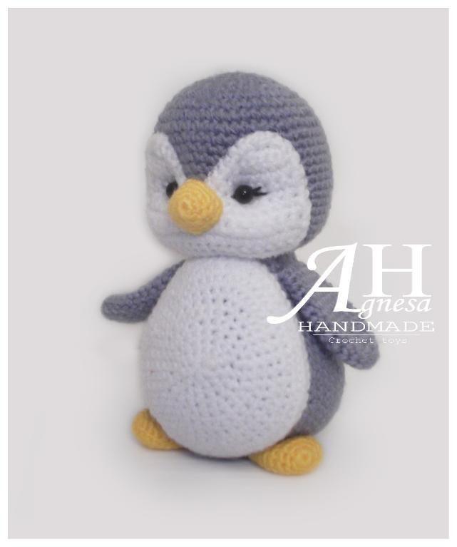 Baby Penguin Crochet Pattern | Patrones amigurumi, Patrones y Tejido