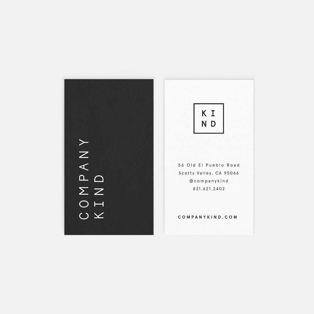 Throwing It Back To This Ultra Modern Business Card Concept For