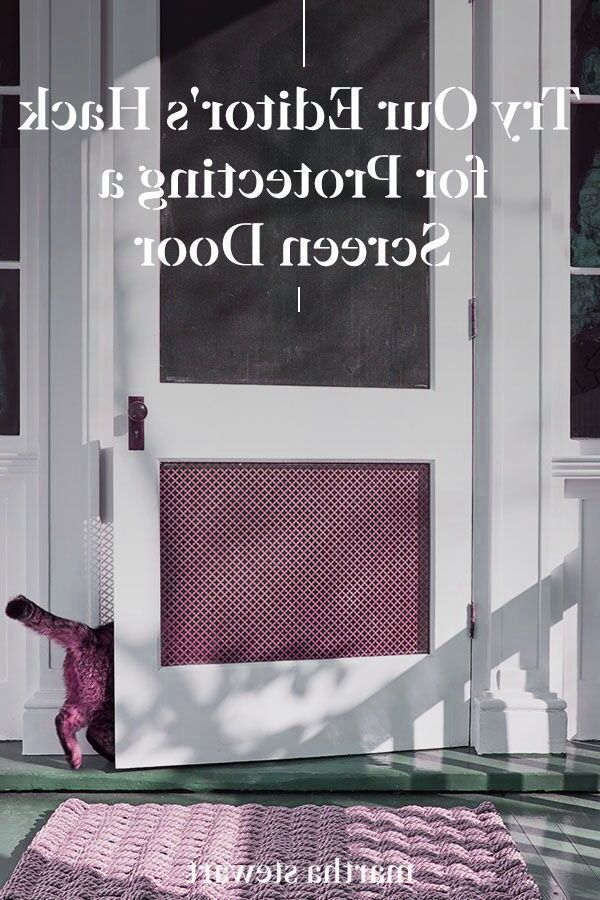 Kardashian Home Interior A Martha Stewart Living Editor shares how to reinforce the bottom of a screen door with a few simple steps. This DIY home improvement idea will help keep your screen door in good condition for years to come and will allow fresh air into your space while keeping bugs out. #marthastewart #homeimprovementideas #easyhomedecorideas #details #homedecorinspiration.Kardashian Home Interior  A Martha Stewart Living Editor shares how to reinforce the bottom of a screen door with a