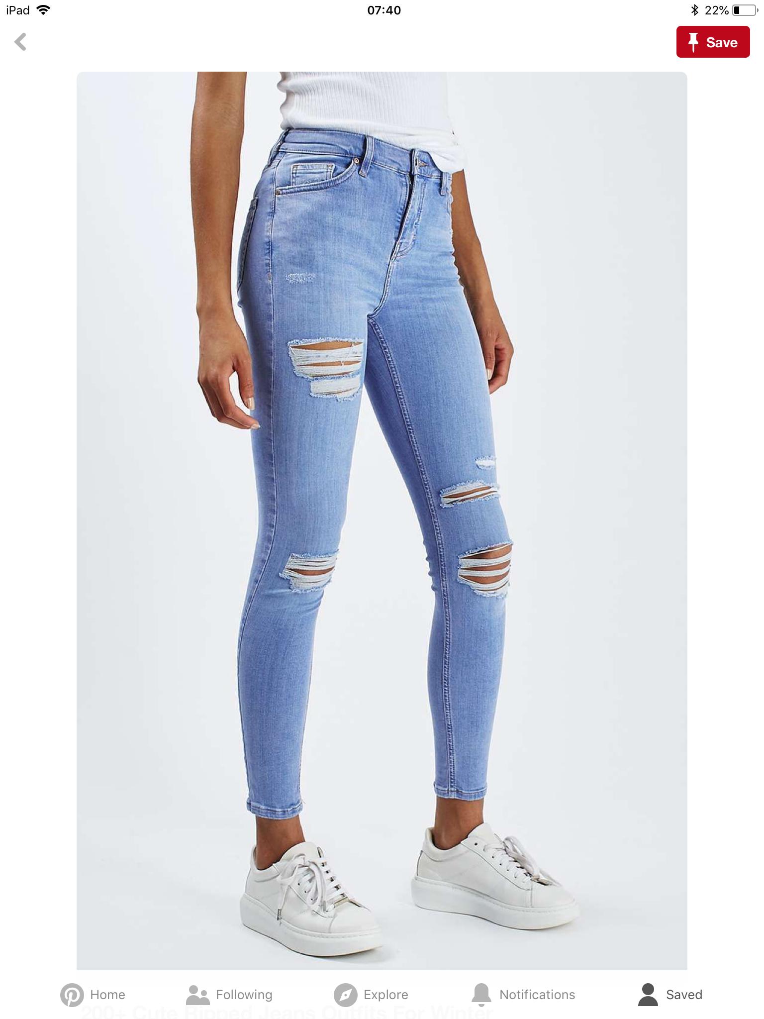 9c0ffefc3b1b Pin by Asiya on Rip jeans jeans