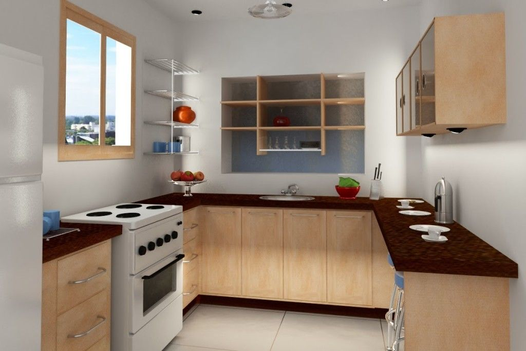 Small Kitchen Model desain dapur rumah minimalis type 36 | inspiration | pinterest