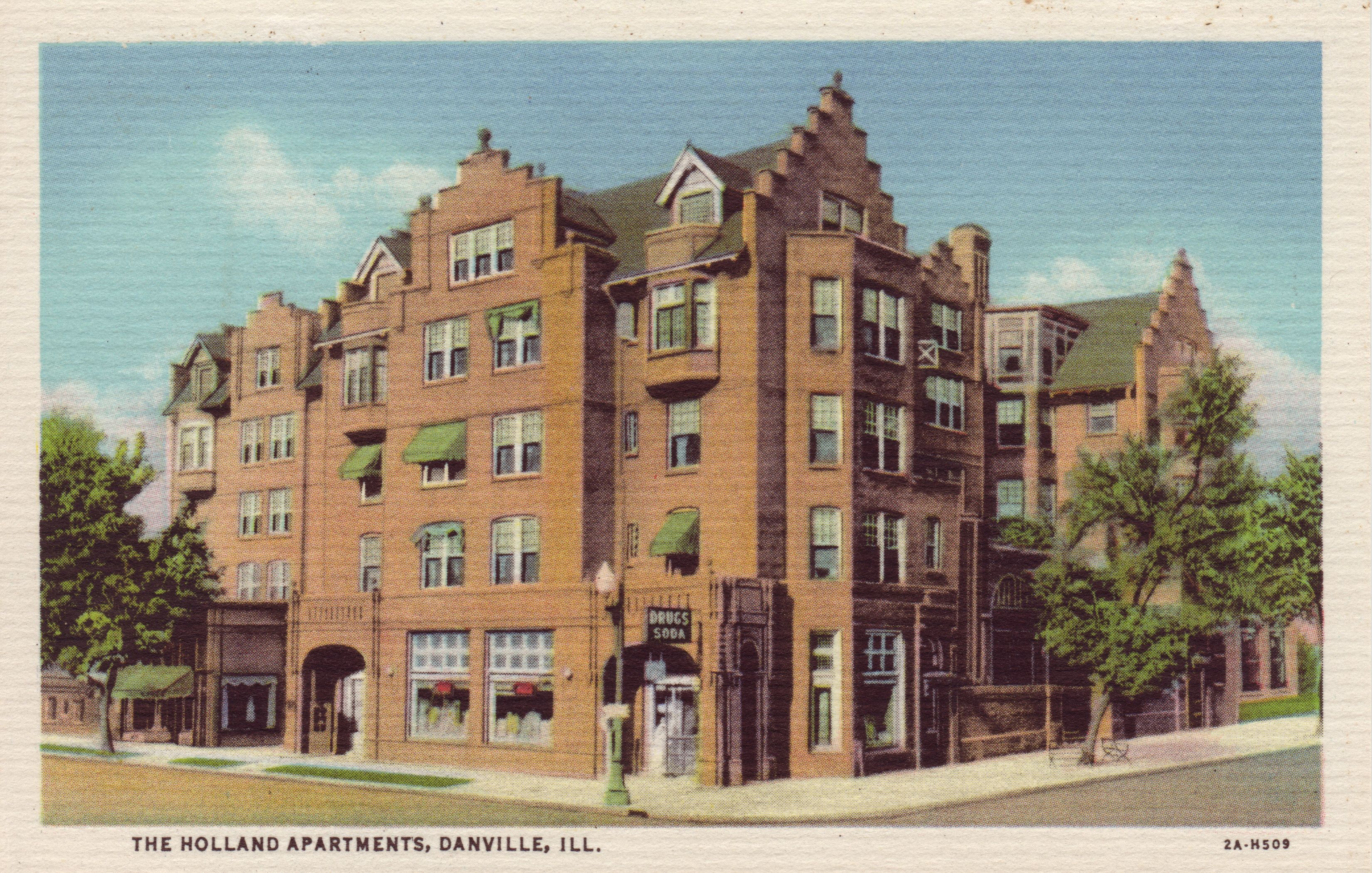 The Holland Apartments, Danville, Ill.