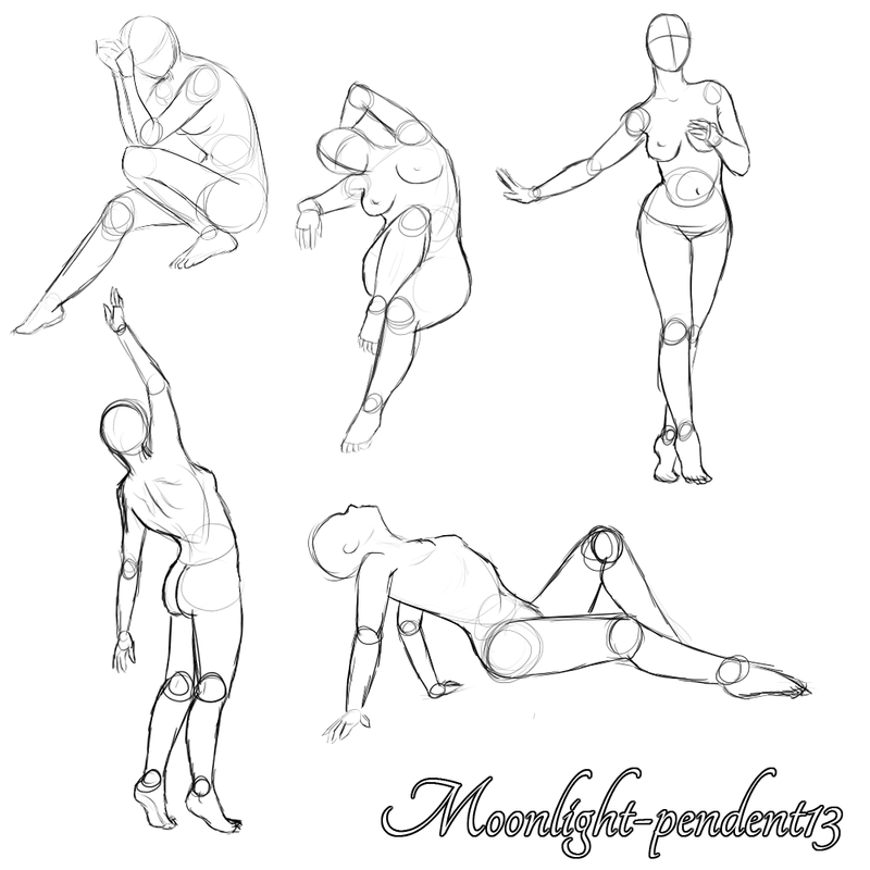 Female Pinup Poses by Moonlight-pendent13 on DeviantArt | How to ...